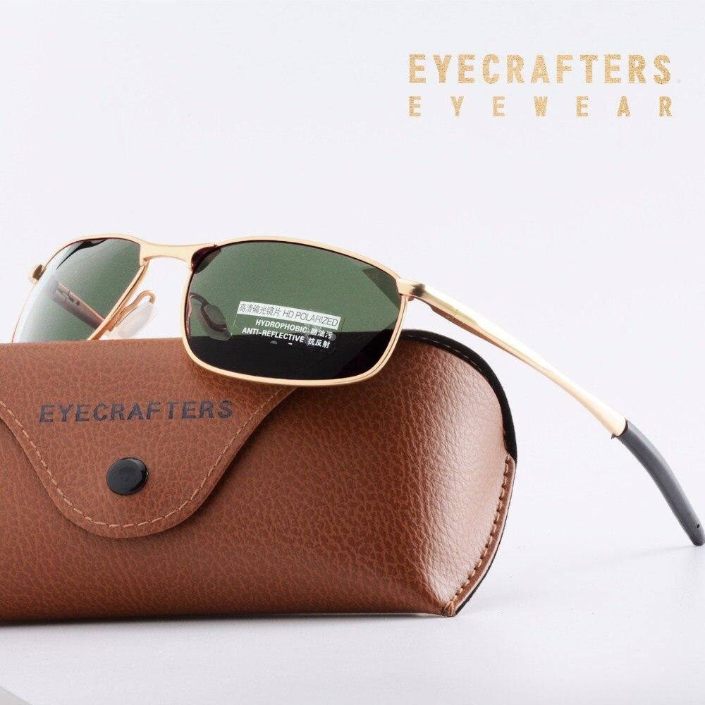 New Men's Polarized Sunglasses Metal Frame Night Vision Car Driving Sun Glasses 100% UV400 Polarised Goggle Style Eyewear