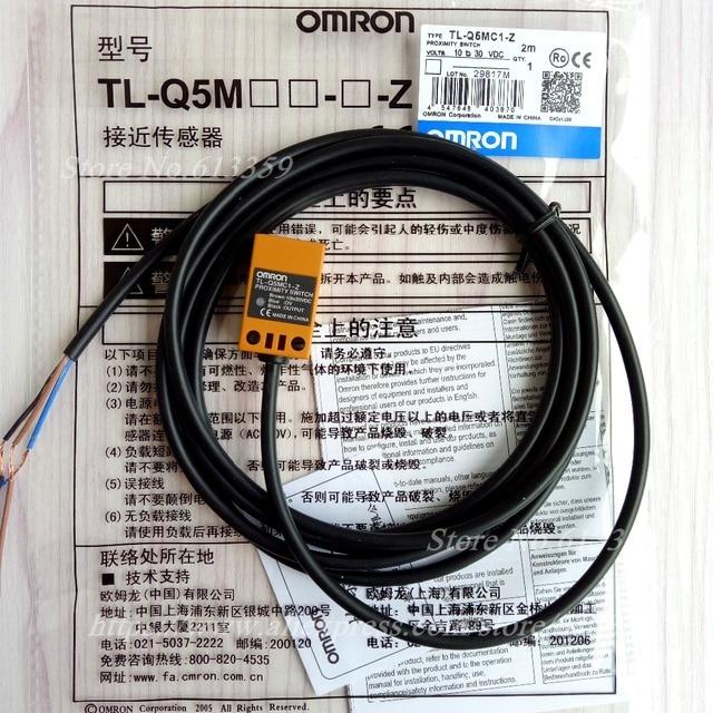 5 pcs TL Q5MC1 Z omron 근접 스위치 유도 형 센서 npn no dc 3 wire 10 30 v