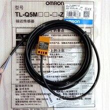 Индуктивный переключатель с датчиком приближения Omron, 5 шт., NPN, NO DC, 3 провода, 10 30 в