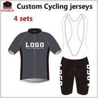Пользовательские Дизайн Лето Велоспорт короткий рукав Джерси нагрудник Шорты для женщин Bike Racing Team дорога Байкер Велоспорт Спорт мягкий кос