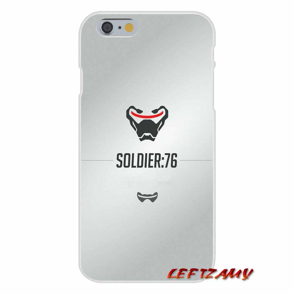 game Overwatch OW Soldier 76 Accessories Phone Shell Covers For ...