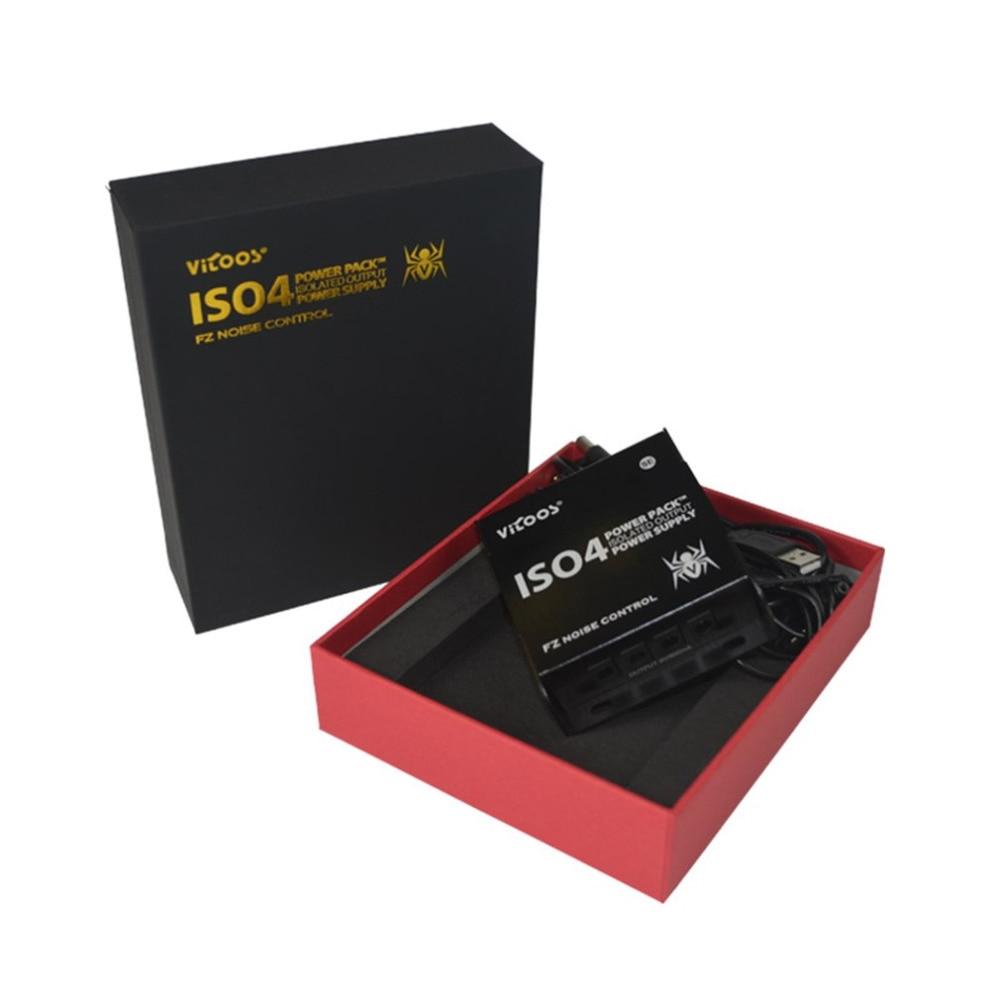 Iso4-se Мощность Пакет Изолированный Выход Питание Гитары эффекты Питание 4 шт. DC Кабели для Гитары Педали для автомобиля новый