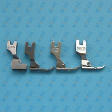 Metal INDUSTRIAL Sewing Machine ZIPPER FOOT Presser Foot – SET OF 4 PCS