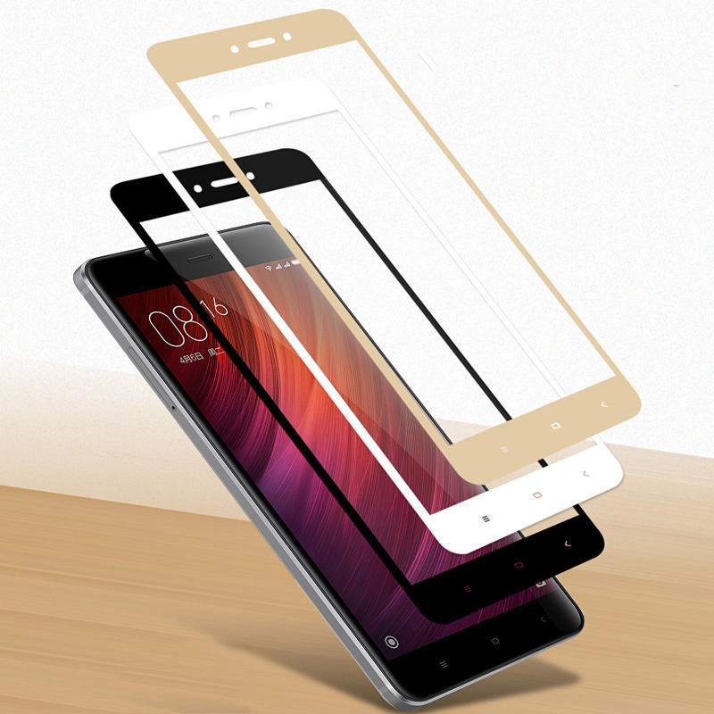 imágenes para 25 Unids/lote Para Xiaomi Redmi 4X 2.5D Prima Completa Cobertura Protector de Pantalla de Cristal templado de Cine Para Redmi Teléfono 4X LCD película