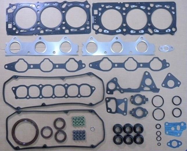 Полный Комплект прокладок, пригодный для Mitsubishi 6G72 (SOHC и 24В) Паджеро/Челленджер/гелендваген/СЕГУН, MD973444