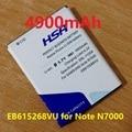 4900 mah eb615268vu bateria use para samsung galaxy note n7000 i9220 i9228 i889 i717