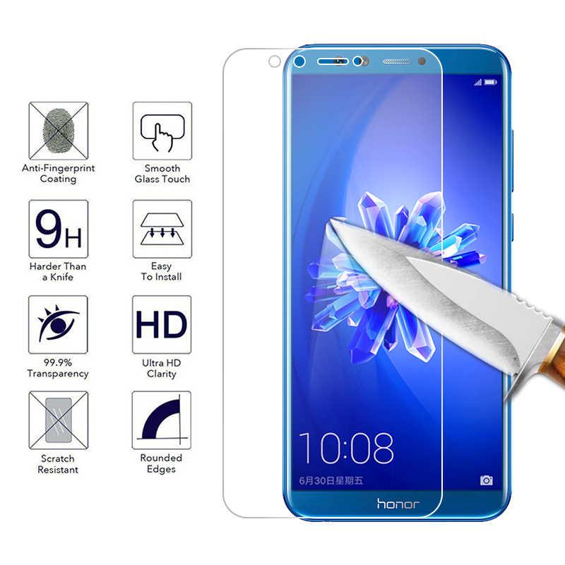 Layar Kaca Tempered untuk Huawei Kehormatan 8X Max 8C Magic2 V9 Bermain V10 Note10 Pelindung Kaca untuk Huawei Kehormatan 10 6C Pro 9i Film