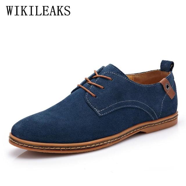 US $21.94 48% di SCONTO|Herenschoenen elegante scarpe uomo vestito scarpe da uomo scarpe da sposa formale italia Mucca Pelle Scamosciata scarpe oxford