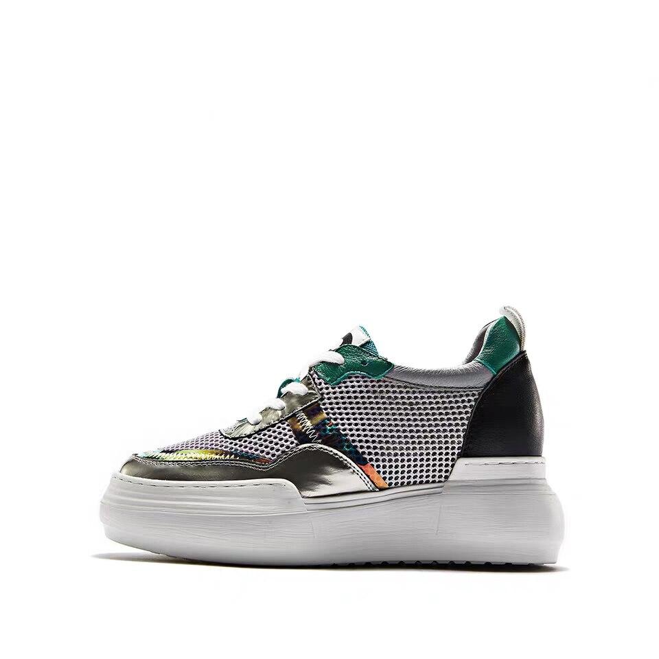 Tenis Black Marca De white Mujer Zapatos Delivr Casuales Casual Color 2019 Mixto Moda Gruesa Lujo Zapatillas Suela Femenino tYwBqaqC