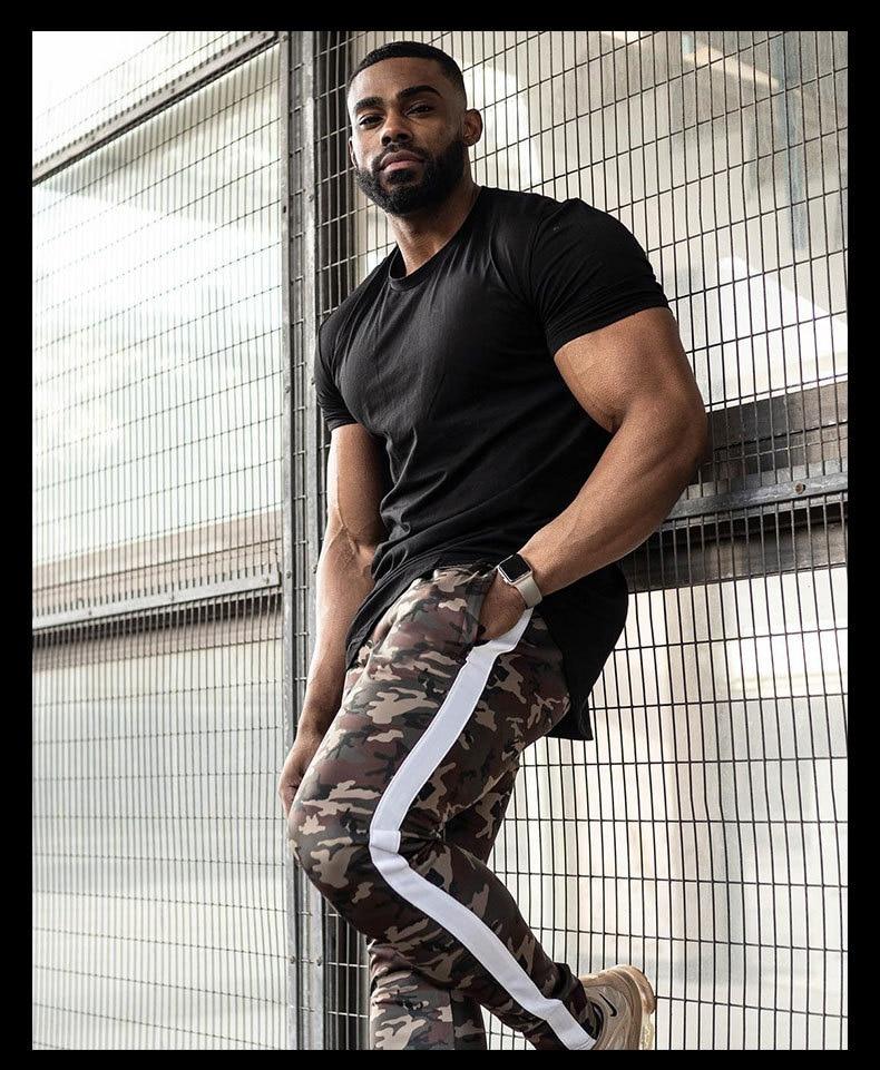 Joggers Pants Men 2020 Camouflage Colour Patchwork Men Pants Fitness Sportswear Sweatpants Male Casual Leggings Trousers 23