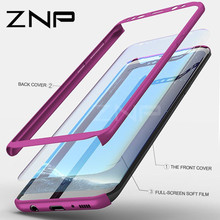 ZNP 360 Degree Shockproof Cases For Samsung Galaxy NOTE 8 Case S8 S9 Plus Phone Cover For Samsung S9 Plus S8 Note 8 Case