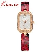 KIMIO Top Luxury Brand Women S Bracelet Watches Fashion Bracelet Ceramic Wristwatches For Women Quartz Casual