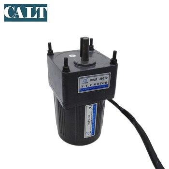 40 W VTV YN80 40 110 V AC małe 3 przewody motoreduktor 1:30 współczynnik redukcji wyjście prędkość 50 obr/min silnik jednofazowy w Akcesoria do elektronarzędzi od Narzędzia na