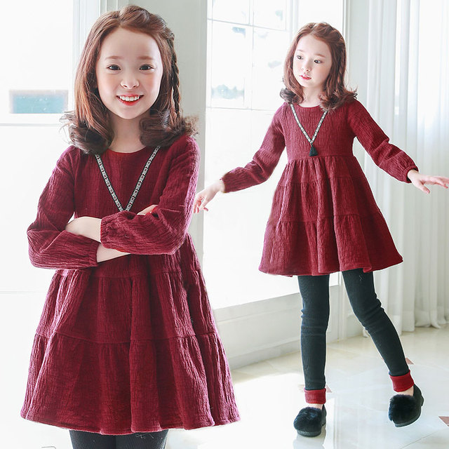 Robe fille 4 ans automne