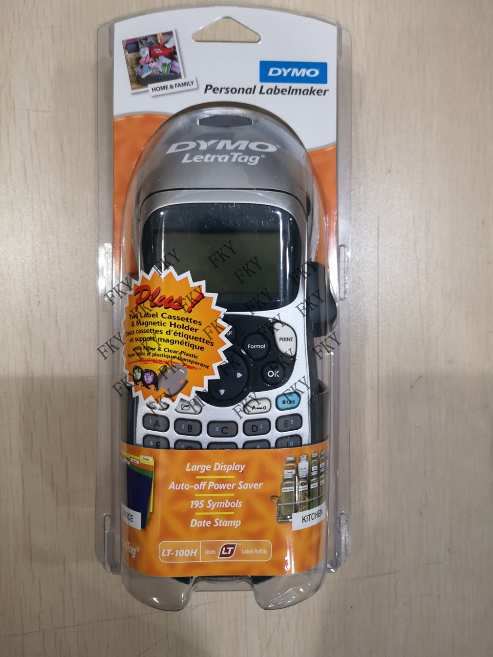New LetraTag Plus for Dymo LT 100H 21455Handheld Label Printer Letratag office or home handheld portable