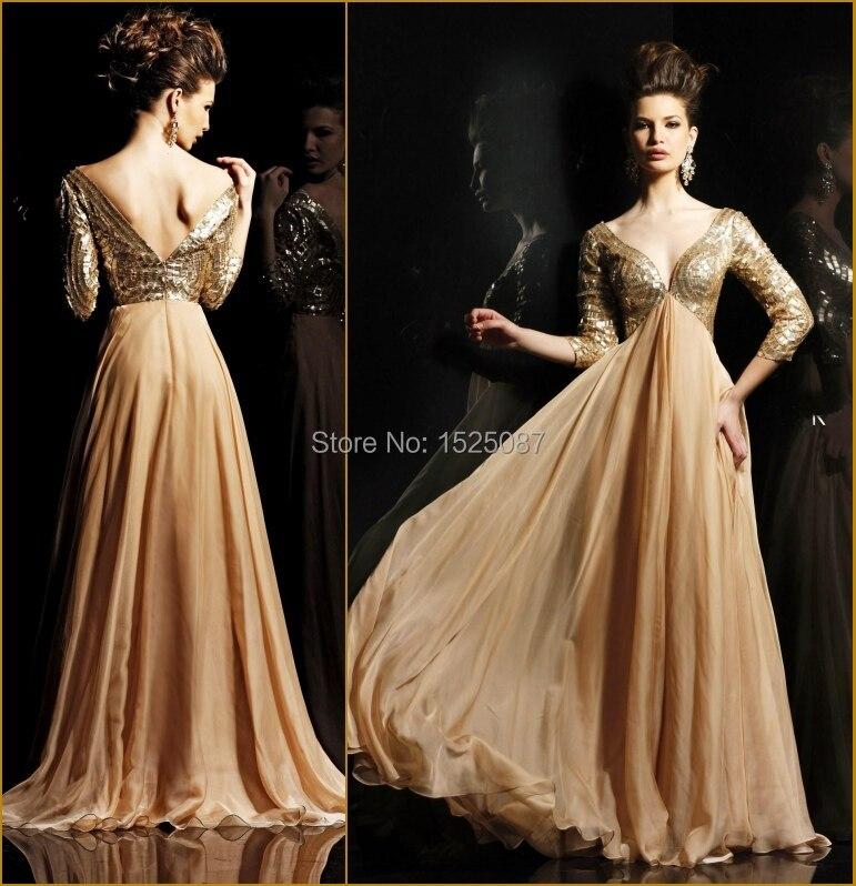 Aliexpress.com : Buy 2015 Designer Vintage Beading Long Sleeve ...