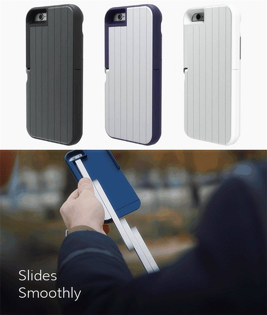 best service b7c9d 7ed49 US $29.58 |2016 New Brand Stikbox Aluminum Selfie Stick Case for Iphone 6  6s Plus Tripod Monopod for Ipone Iphon 6 Perche Selfies Trepied-in Selfie  ...