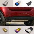 Для Benz smart fortwo 2015-2018 чехол для автомобиля глушитель наружный конец трубы выход посвящает выхлопной наконечник из нержавеющей стали 1 шт