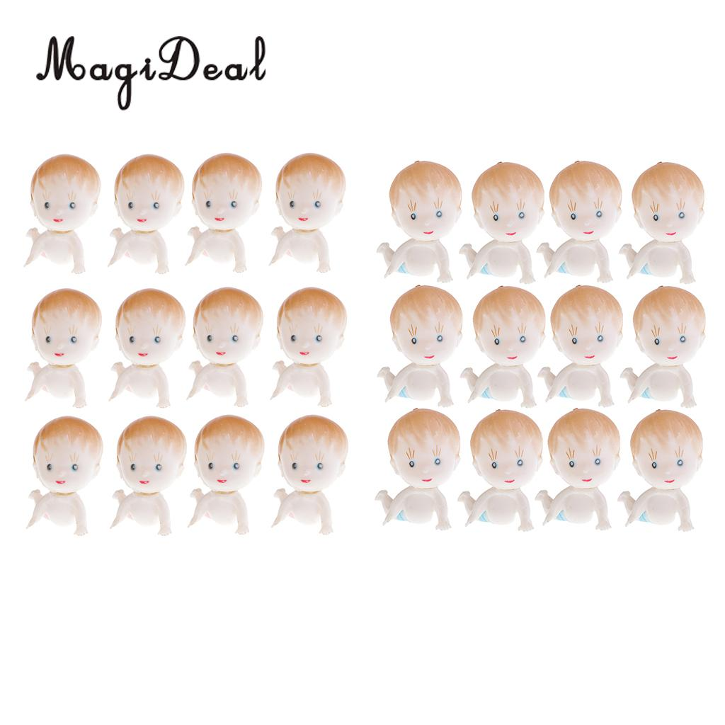 12 Pieces Mini Cute Crawling Boys Girls Party Favors Baby Shower