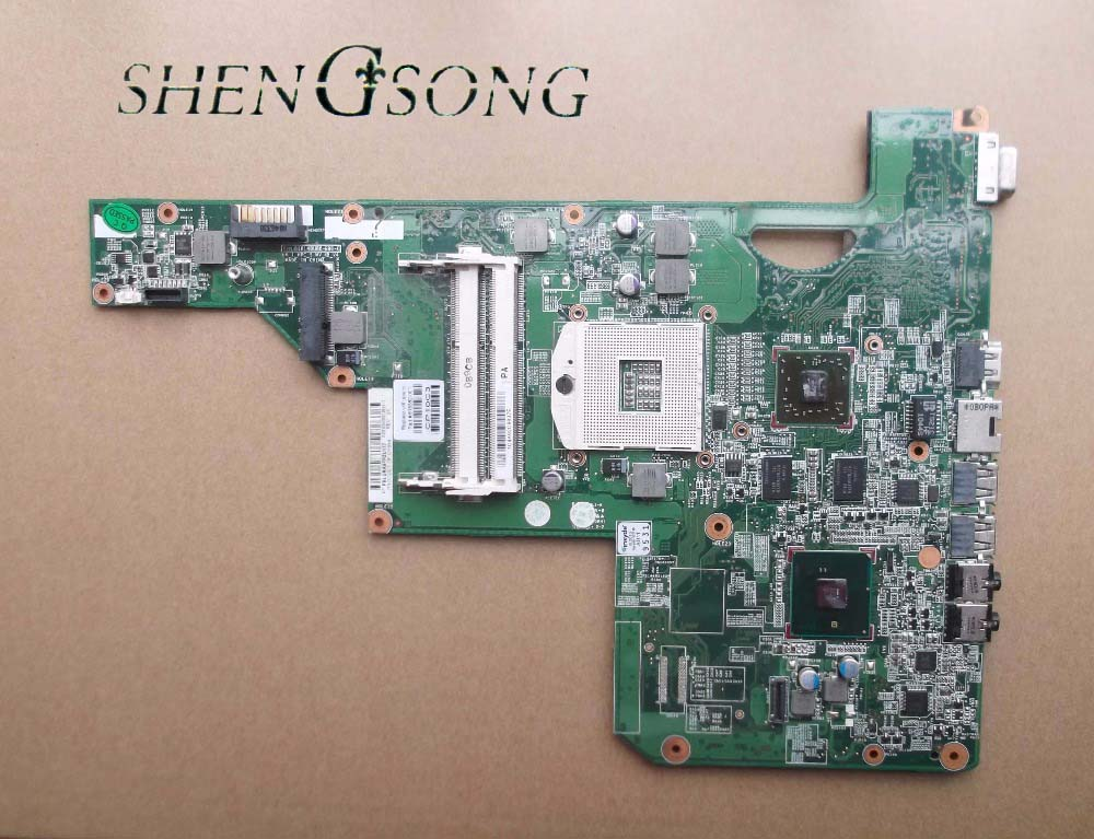 615382-001 free shipping for hp G62 Laptop Motherboard 1GB 100% test OK laptop motherboard fit for hp g62 notebook pc main board 615381 001 615382 001 ddr3 hm55 100% tested
