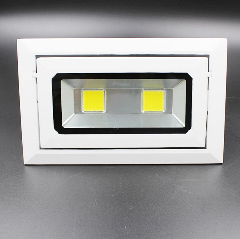 Free Shipping 60W COB LED Floodlights Outdoor Wall Lamps Lighting Waterproof IP66 Adjustable LED Spotlights AC85-265V