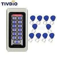 SIB Keypad RFID Access Control System Proximity Card Standalone 2000 Users Door Access Control Metal Case