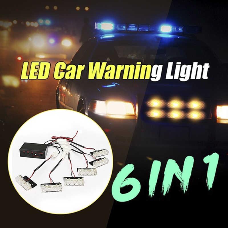 12-24 V סנכרון הר Strobe אזהרת אור פונקצית חירום רכב משאית LED גריל אור ראש משטח