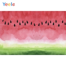Yeele Wallpaper Room Decor Watercolor Watermelon Photography Backdrops Personalized Photographic Backgrounds For Photo Studio