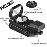 Tactics 20mm Rail Riflescope Hunting Optics Holographic Sight Red Dot Sight Rifle Scope Air Gun Collimator Sight