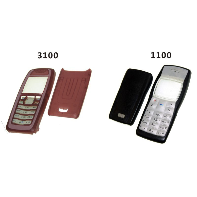 keypad Frame Front Cover - Housing Door back Nokia Housings Us Cover Cover amp; for mobile Phone Case 34 3100 Faceplate 2 Frames 1100 battery