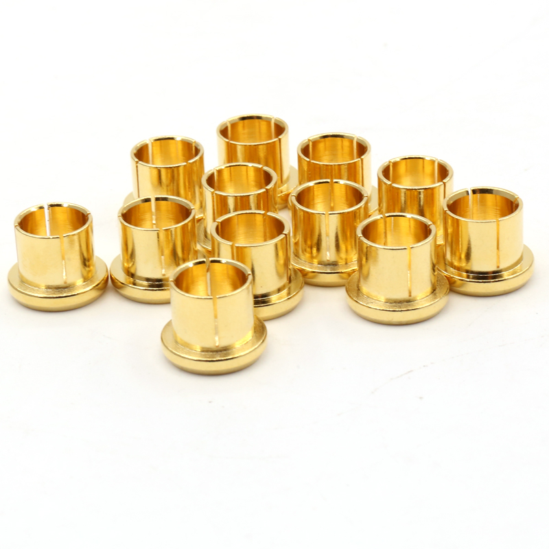 Consumer Electronics 12pcs X Noise Stopper Gold Plated Copper Cap Dust Protector Rca Plug Caps Strong Packing