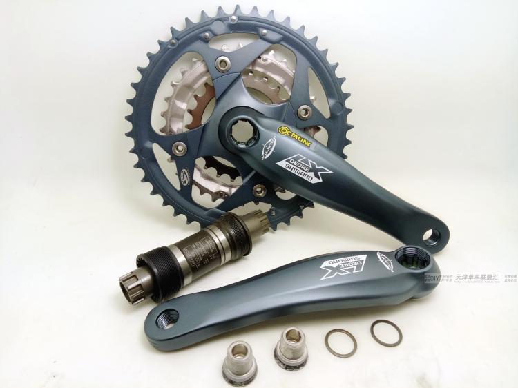 original classic DEORE LX M572 175mm aluminum alloy ISIS 9 speed 27 mtb bicycle crankset