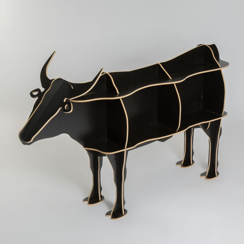 100 wood cattle OX animal table European DIY Arts Crafts Home Decorative wood craft gift desk