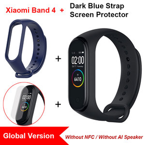 Image 5 - Global Version Xiaomi Mi Band 4 Smart Wristbands Miband 4 Bracelet Color Screen Heart Rate Fitness Bluetooth 5.0 Chinese Version