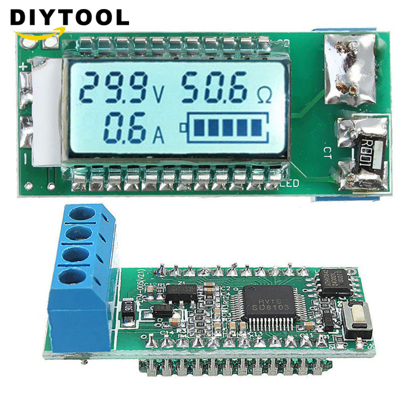 18650 26650 Digital Lithium Li-ion Battery Tester LCD Meter Voltage/Current/Capacity