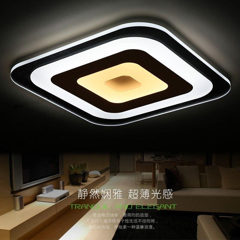 купить modern acrylic ceiling lights tavan aydinlatma bedroom living room light plafondlamp lighting fixtures lamparas de techo lamp по цене 5476.62 рублей