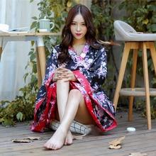 Modern Design Japanese Kimono Dress
