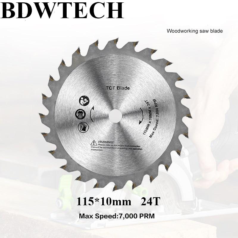 Free Shipping 115MM Saw Blade For BDEWTECH BTC02 Circular Saw  115x10mm