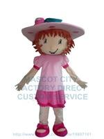 Çilek kız maskot kostüm çilek kısa karikatür karakter cosply yetişkin boyutu karnaval kostüm 3465