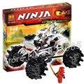 174 шт. 2016 Бела 9730 Ninja Nuckal ATV Модель Здания Игрушки Кай DX мальчики Кирпичи Совместимость С Lego