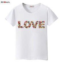 2021 Summer tshirt New Fashion t shirt women Lovers Tops Femmes Tees flowers haut femme Women's tshirts korean clothes