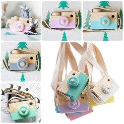 Mini Nette Holz Kamera Spielzeug Sichere Natürliche Spielzeug Für Baby Kinder Mode Kleidung Zubehör Spielzeug Geburtstag Weihnachten Urlaub Geschenke
