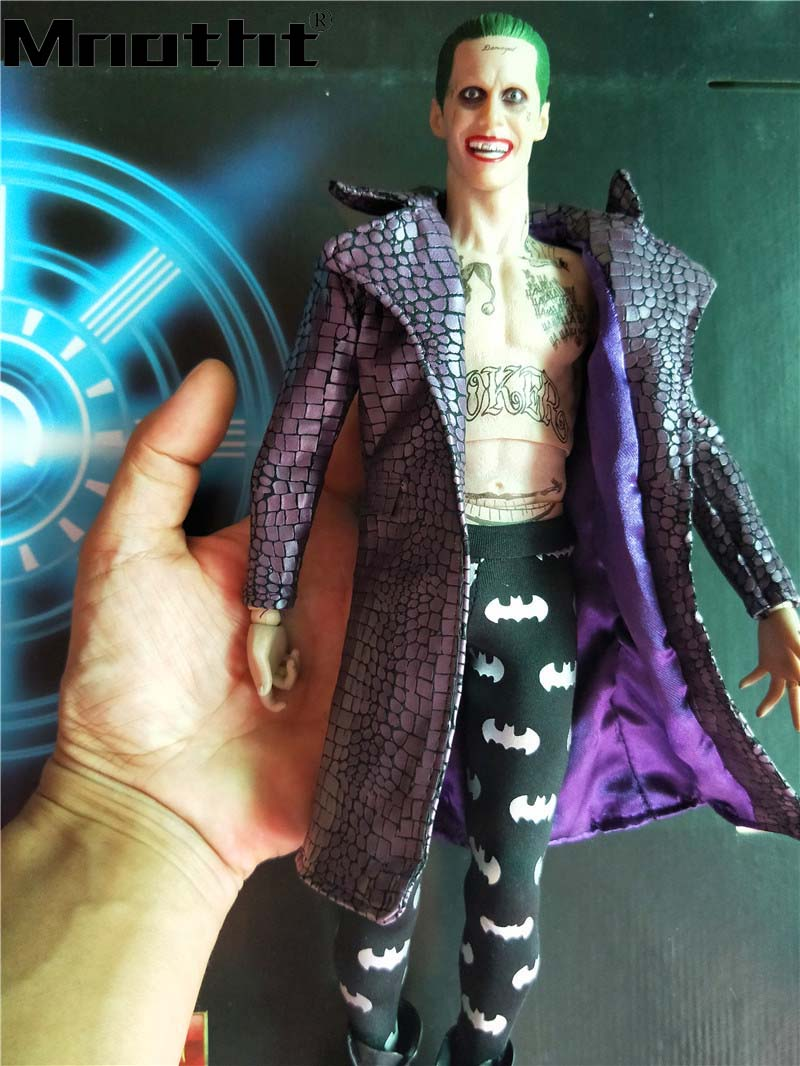 1:6TH Scale Collectible Figure suicide squad Joker Gerard Leto Toys for 12inch Action Figure Toys Hobbies m5 цена и фото