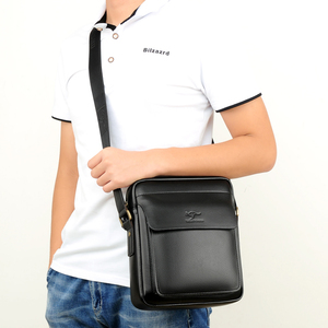 Image 4 - 2020 ใหม่ผู้ชาย Messenger กระเป๋าหนังกระเป๋าสะพายชาย Casual MINI FLAP back Pack Man ธุรกิจ IPAD กระเป๋า Messenger