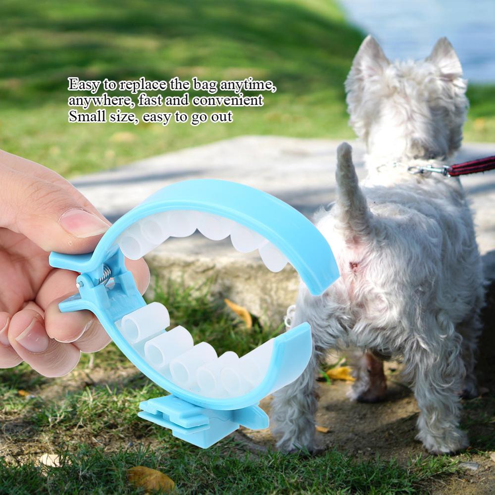 New Style Pet Dog Pooper Scooper Poop Bags Set Dog Cat Outdoor Waste Cleaning Poop Shit Pickup Remover Poop Bags 1