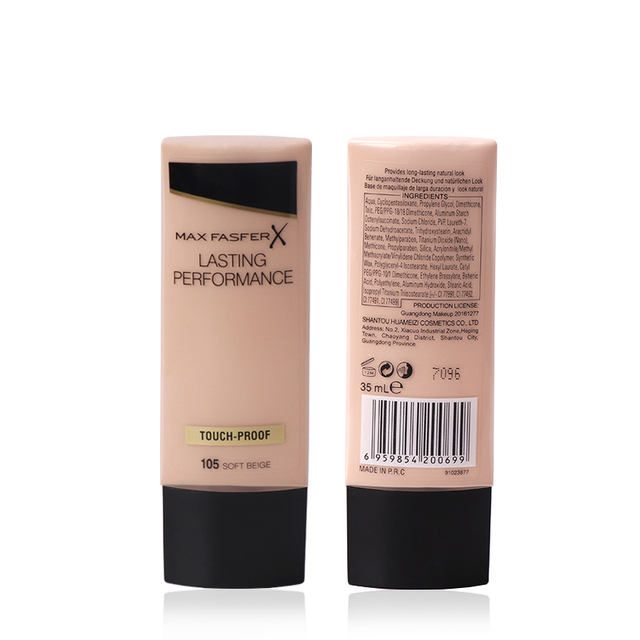 MAXFASFERX Face Liquid Foundation Makeup Base BB Cream Concealer Invisible Full Coverage Whitening Moisturizer Waterproof 3