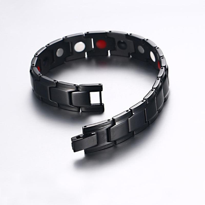 Vinterly narukvica magnetska narukvica Muškarci Nehrđajući čelik - Modni nakit - Foto 2