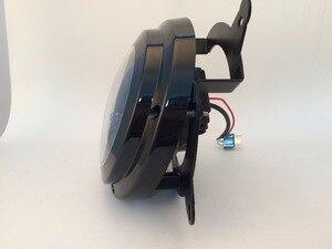 Image 3 - Beliebte Led Scheinwerfer Für Jeep Patriot 2011 2015 Jahr LED High abblendlicht Mit DRL Halo Front Kopf Lampen