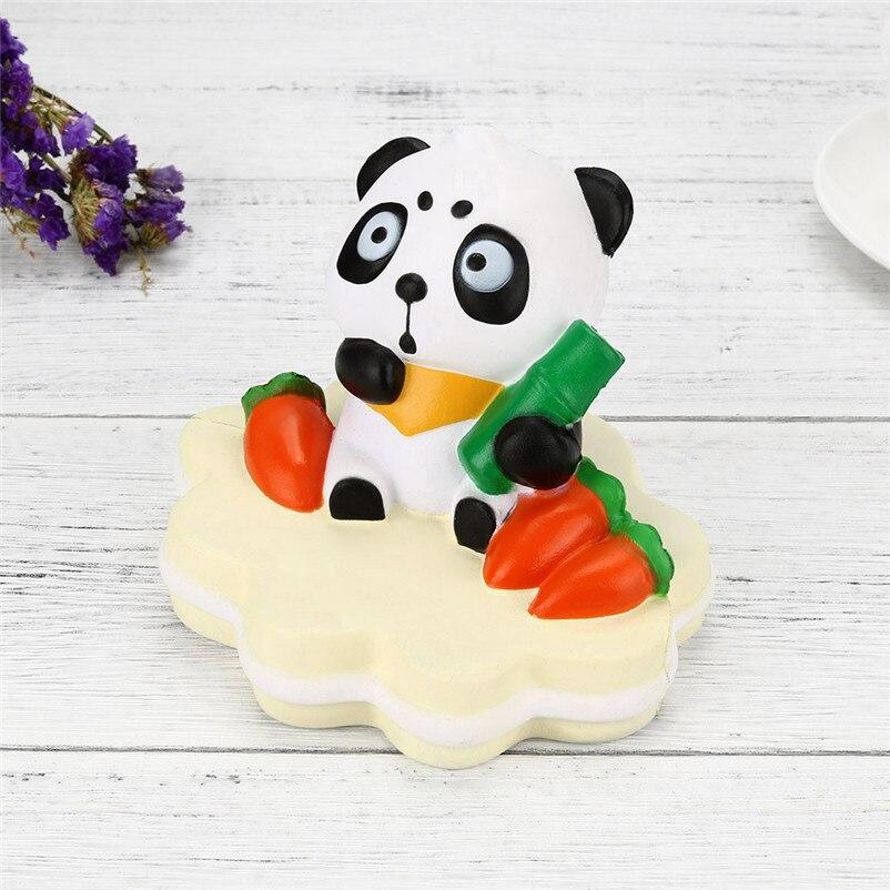 Bamboo Panda Cartoon Viscous Aroma Slow Rising Compression Toy Gift Fun Cake Shop Decoration Anti-Stress Lovely Gift P5