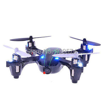 Top Selling X6 310B 2.4GHz 4CH 3D RC Quadcopter with Camera Mode 2 Hunbsan H107C UFO RTF